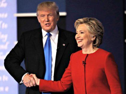 Clinton Trump Hands AP