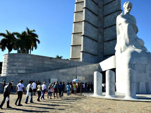 Cubans Castro Vigil AP