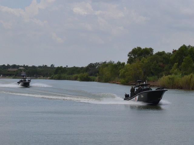 DPS Gunboats on RG River