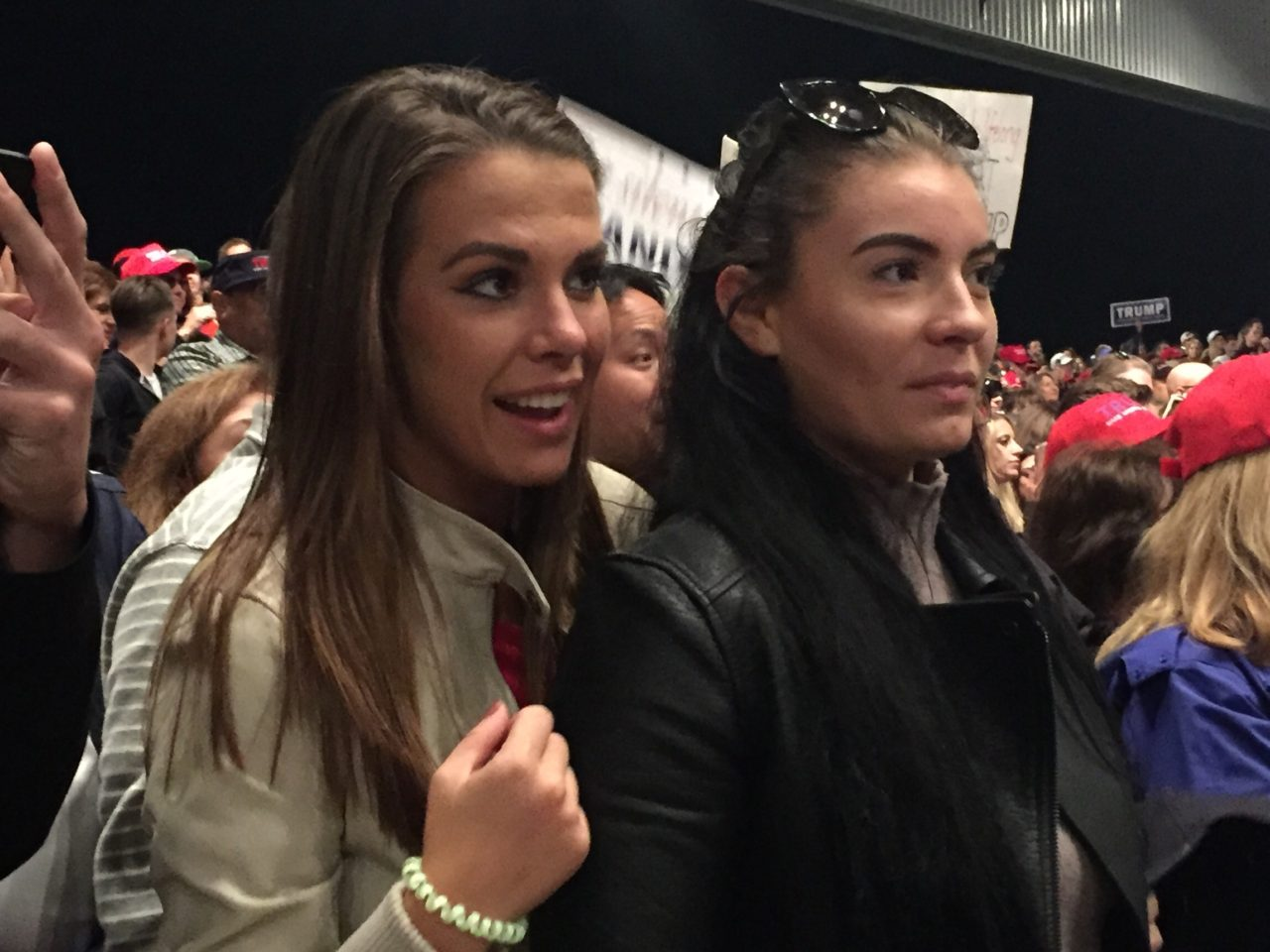 Young Women for Trump Sterling Heights Michigan Rally (Joel Pollak / Breitbart News)