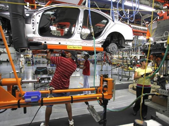 u s automobile manufacturing