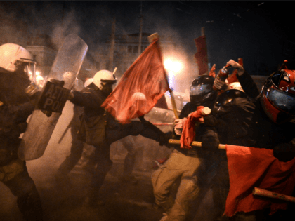 PICTURES: 'Obama Go Home': President Sparks Riots on European Farewell Tour