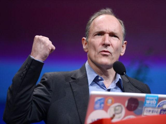 British computer scientist Tim Berners-L