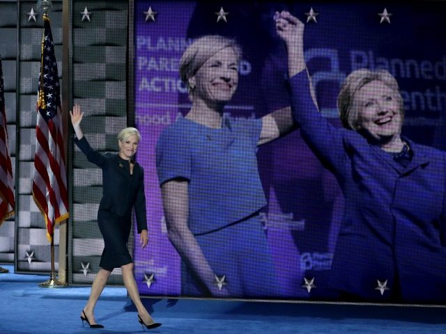 Cecile Richards, President, Planned Parenthood Federation of America walks on stage to deliver remarks on the second day of the Democratic National Convention at the Wells Fargo Center, July 26, 2016 in Philadelphia,