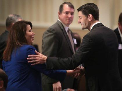 Speaker of the House Paul Ryan (R-WI) on October 13, 2016 in Brookfield, Wisconsin.