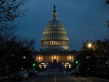WASHINGTON, DC - NOVEMBER 08: The Capitol Building is pictured on November 8, 2016 in Washington, DC. Americans today will choose between Republican presidential candidate Donald Trump and Democratic presidential candidate Hillary Clinton as they go to the polls to vote for the next president of the United States. (Photo …