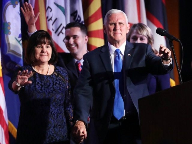 'Amazing Grace': Mike Pence Thanks God for Election Day Victory