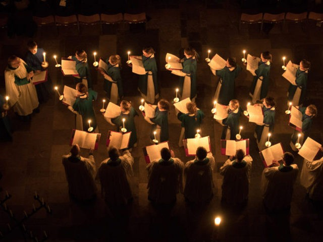 Salisbury Cathedral's Darkness To Light Advent Service
