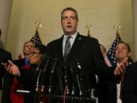 Rep. Tim Ryan (D-OH), speaks to the media after the House Democratic leadership elections on Capitol Hill, November 30, 2016 in Washington, DC.