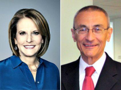 Gloria Borger and John Podesta