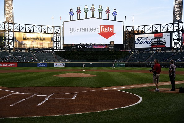CHICAGO, IL - AUGUST 24: A general view of the field before a interleague game on August 24, 2016 at U.S. Cellular Field in Chicago, Illinois. U.S. Cellular Field will become known as Guaranteed Rate Field starting in November. The team and the mortgage company announced a 13-year naming rights …