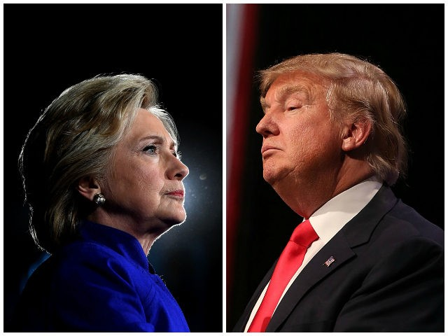 Hillary Clinton Two Points Ahead of Donald Trump for 2020