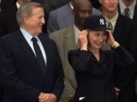 Hillary Clinton Yankees Hat (Susan Walsh / Associated Press)