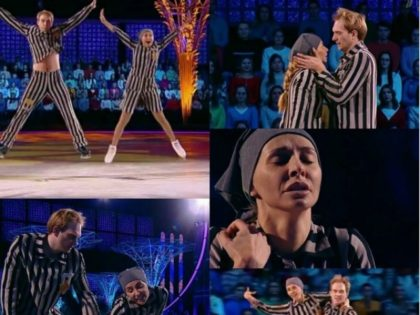 Holocaust Ice dance Russian TV (instagram)