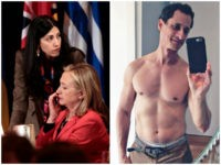 Report: Huma Abedin 'Working Hard' to Save Marriage with Anthony Weiner