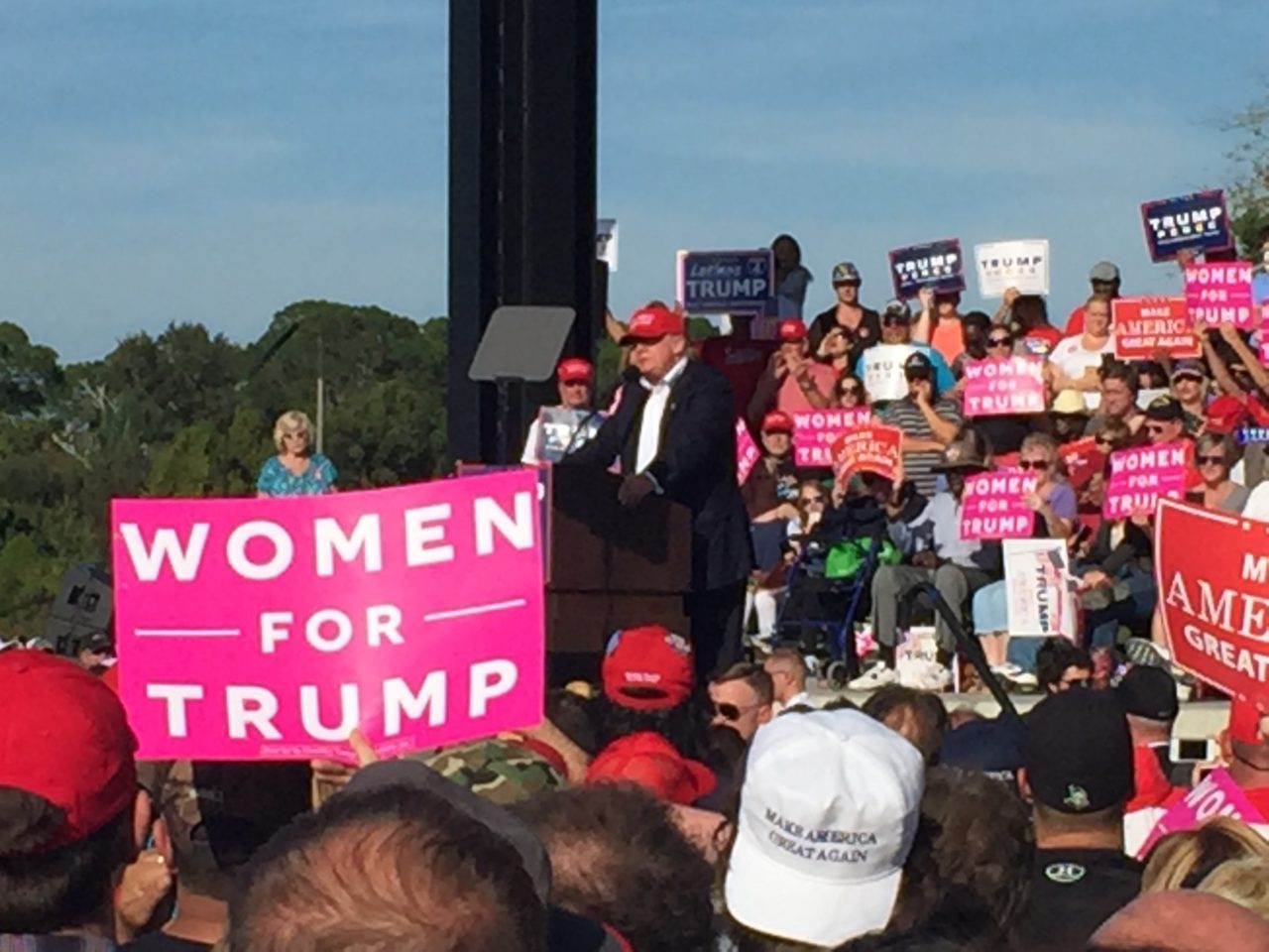 Women for Trump Orlando Florida rally (Joel Pollak / Breitbart News)