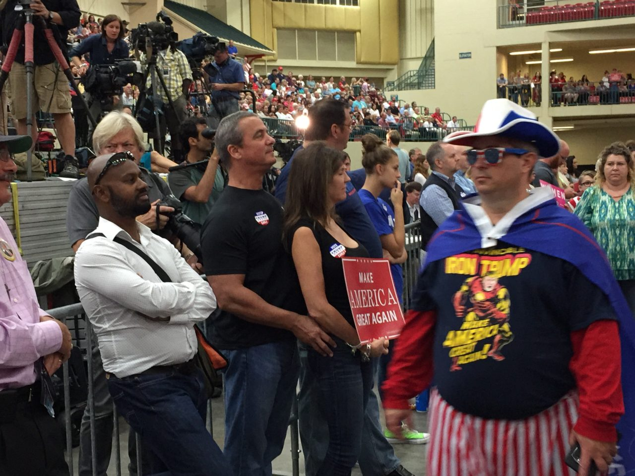 Concord North Carolina Trump Rally (Joel Pollak / Breitbart News)