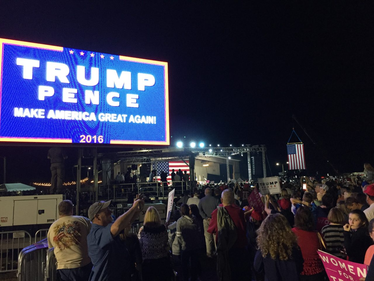 Trump Selma North Carolina Rally (Joel Pollak / Breitabrt News)