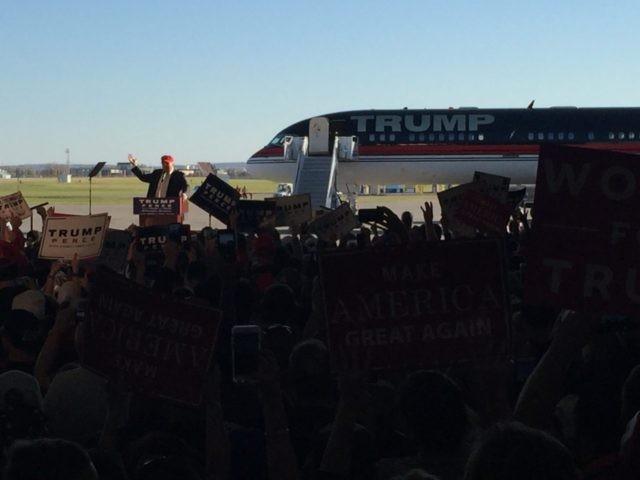 Trump Rocks Minnesota Hangar in Bid to Flip Blue State