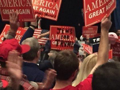 Jews for Trump Sterling Heights Michigan Rally (Joel Pollak / Breitbart News)