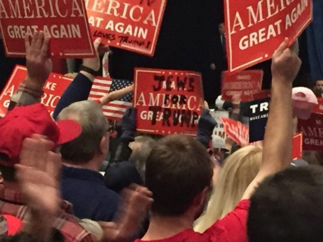 Jews for Trump Sterling Heights Michigan Rally (Joel Pollak / Breitbart News)
