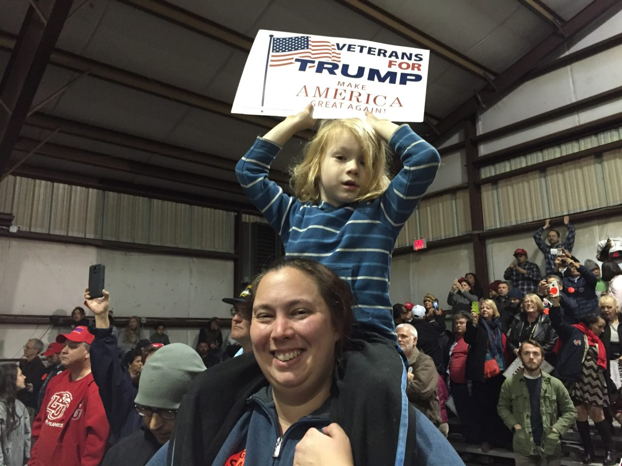 Trump Virginia Rally Midnight Special (Joel Pollak / Breitbart News)
