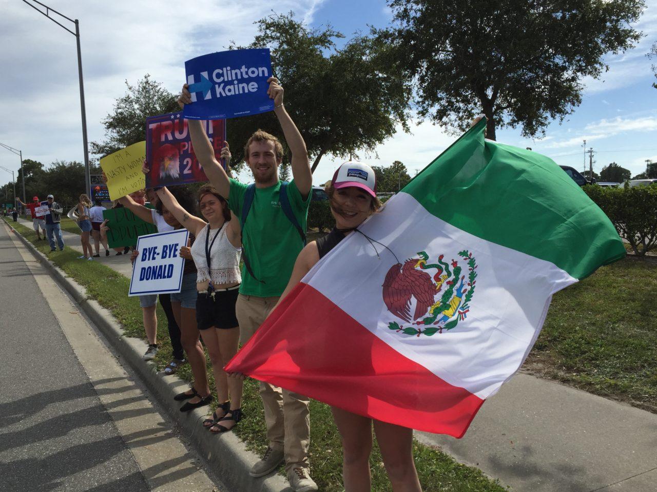 Trump Rally in Sarasota Florida (Joel Pollak / Breitbart News)