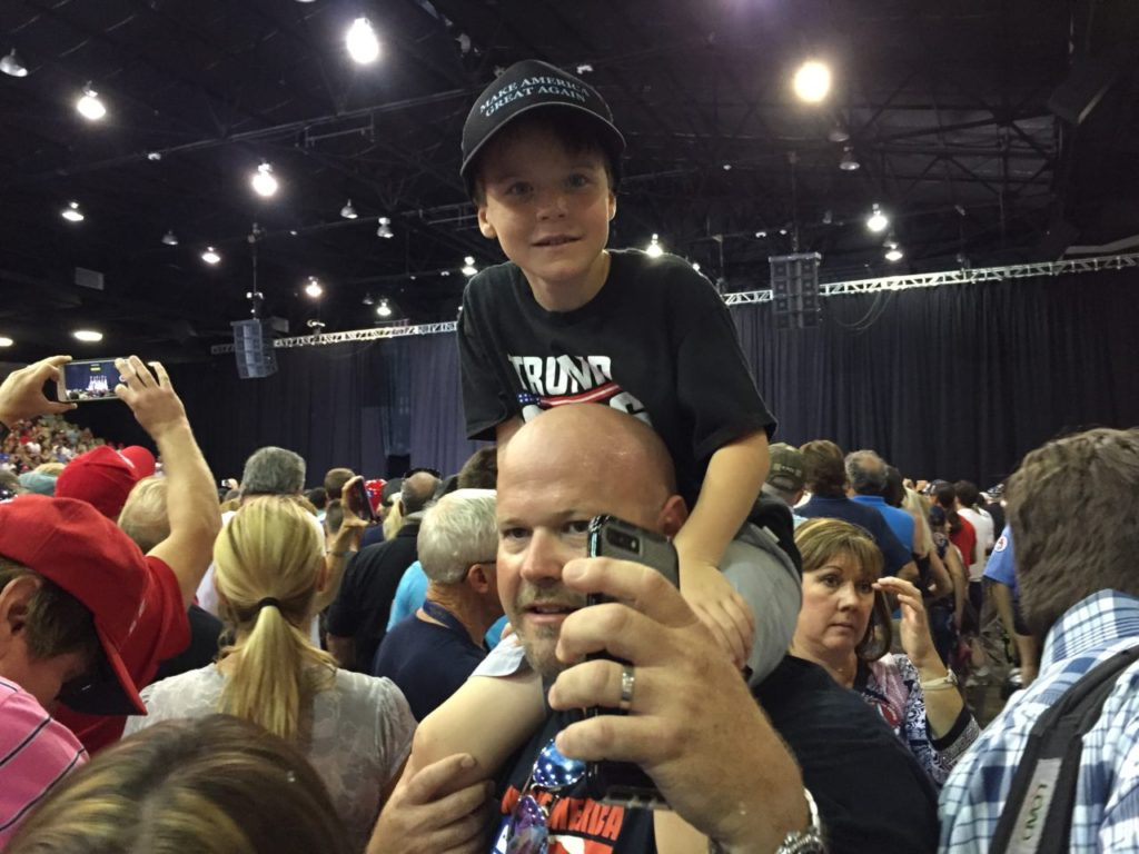 Trump Rally in Sarasota Florida (Joel Pollak / Breitbart News)