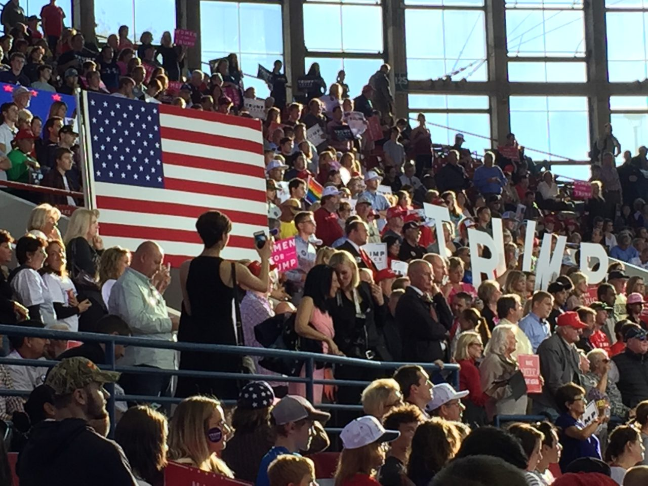 Donald Trump Raleigh North Carolina Rally (Joel Pollak / Breitbart News)
