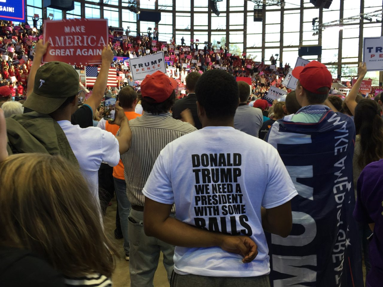 Donald Trump Raleigh North Carolina Rally (Joel Pollak / Breitbart News)