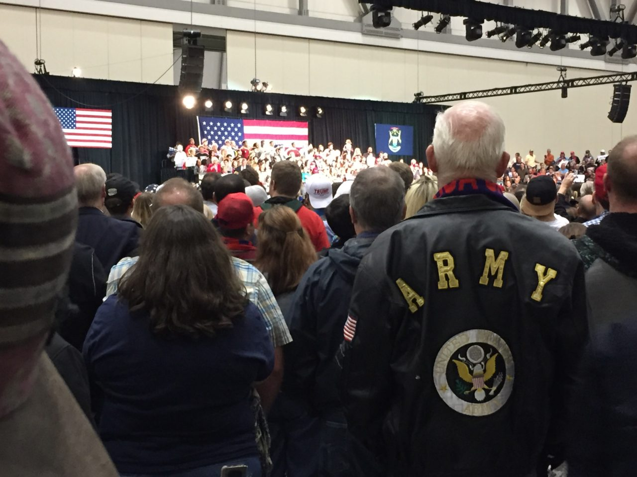 Trump, Pence Close Out 2016 Campaign with Midnight Michigan Rally