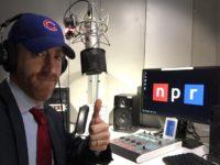 Joel Pollak at NPR (Joel Pollak / Breitbart News)