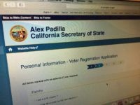 California Voter Registration (Breitbart News)