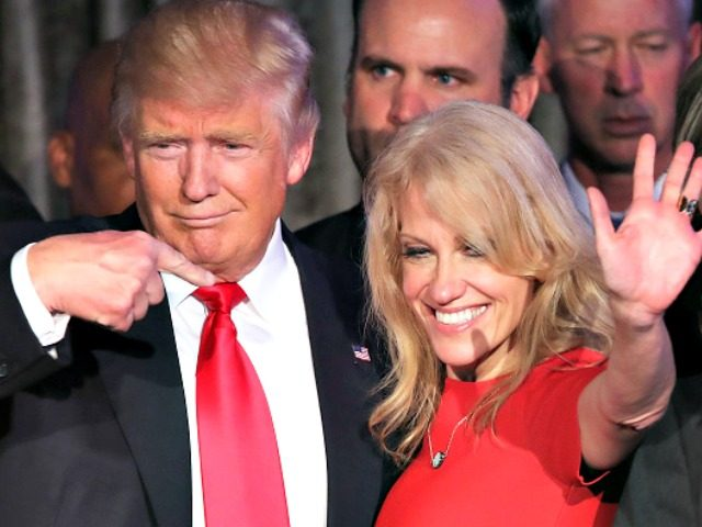 Trump says he won't fire Kellyanne Conway for Hatch Act violations