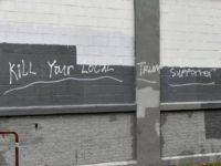 Kill Trump Graffiti