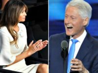 Melania Trump, Bill Clinton Getty:AP