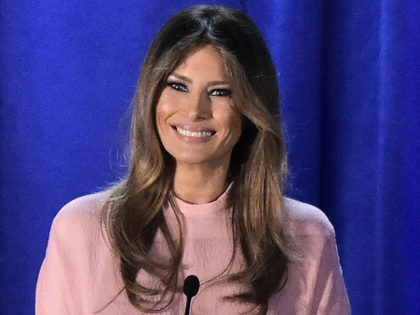 Melania-Trump-Pennsylvania-Speech-November-3-Getty