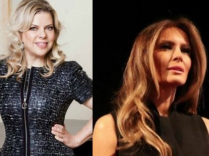 Melania Trump and Sara Netanyahu taken from Prime MInister Benjamin Netanyahu's Facebook