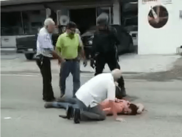 Mex cop robbery