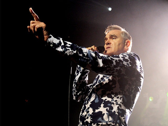 Morrissey Concert Stopped by Stage Crasher