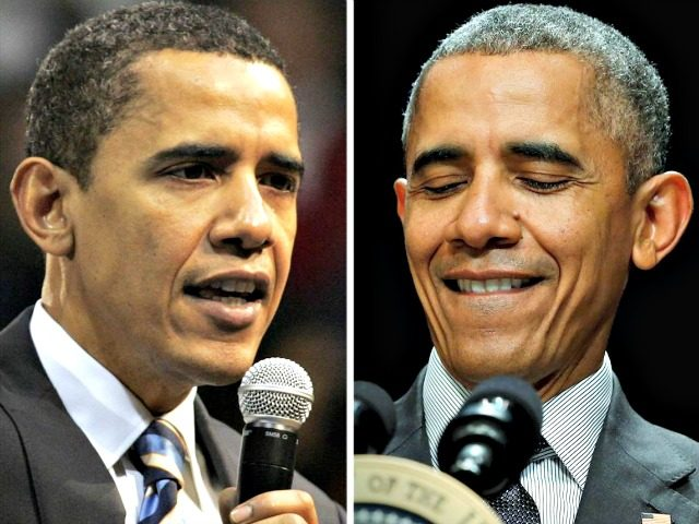 Obama '08 and'16 AP Reuters
