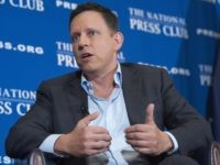 Peter Thiel National Press Club (Saul Loeb / AFP / Getty)