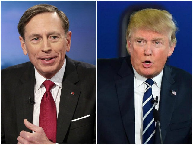 David Petraeus Donald Trump
