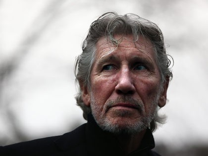 LONDON, ENGLAND - FEBRUARY 13: Former Pink Floyd member, Roger Waters, attends a protest by the We Stand With Shaker campaign group to highlight the situation of Shaker Aamer, the last Briton to be detained in Guantanamo Bay, outside the U.S embassy on February 13, 2015 in London, England. The …