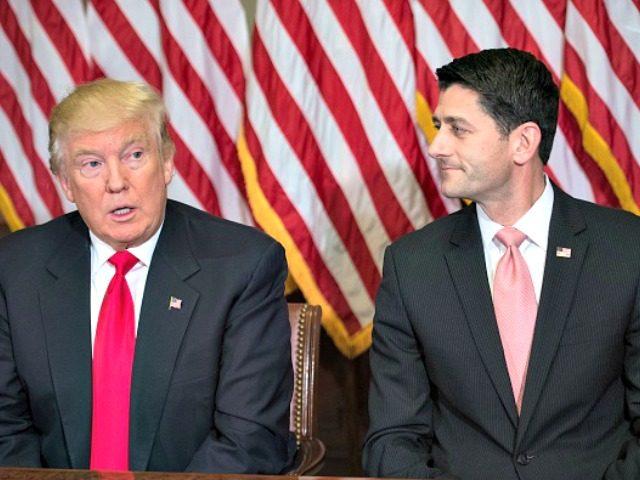 Ryan and Pres-elect Trump AFP