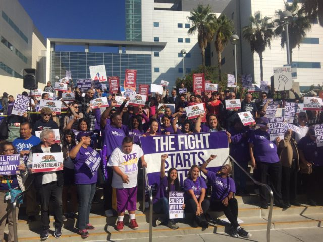 SEIU Covered California (Dr. Ed Hernandez / Twitter)