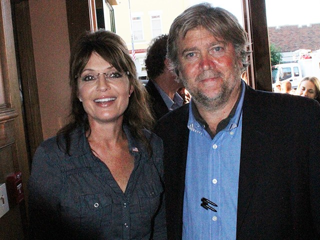 Sarah Palin: 'The Steve Bannon I Know Is a Passionate ...