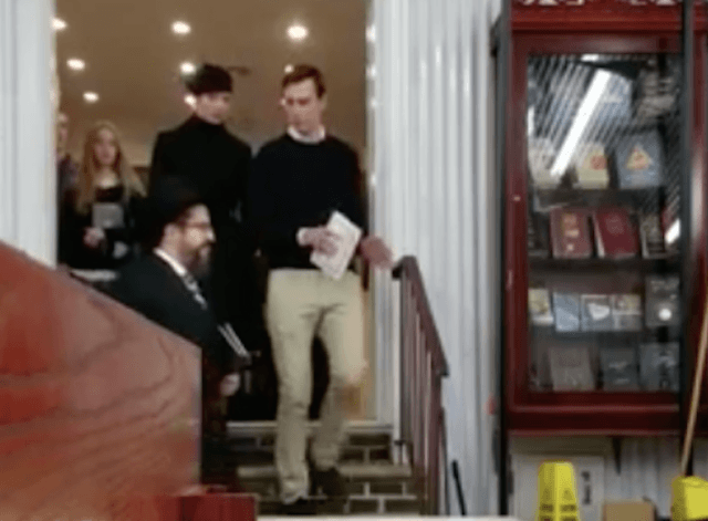 Jared Kushner and Ivanka Trump visit the Rebbe's Ohel (Screenshot / YouTube / Eagle Consulting)