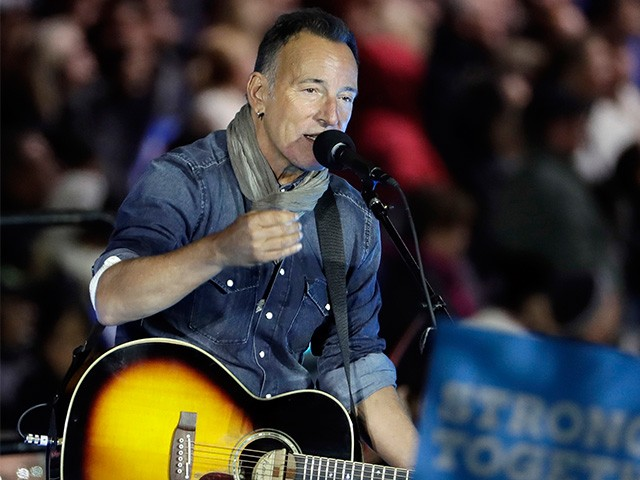 Election Eve Prayer >> Bruce Springsteen Last-Minute Clinton Rally: Trump 'Going Down' - Long Room