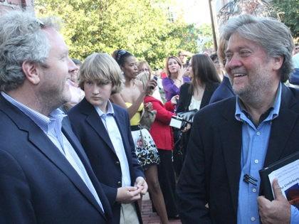 Steve Bannon an Andrew Breitbart